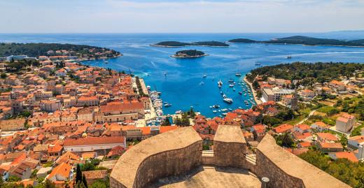 Красивата Далмация на Хърватска - острови и дворци