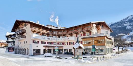 Нова година в австрийски Алпи