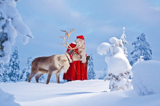 Нова година в снежната красота  на Лапландия